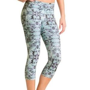 Athleta Cosmic Chaturanga Crop Leggings Pants M